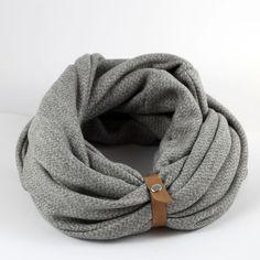 Bufanda hombre bufanda del invierno bufanda infinity por Gazur