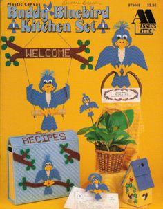 Buddy-Bluebird-Kitchen-Set-Annies-Home-Decor-Plastic-Canvas-Pattern-879008