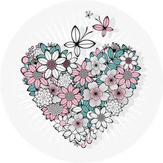 Målarböcker för vuxna| papperspyssel clipart grafik pyssel pappersyssel |   Målarsidor – Do what you love