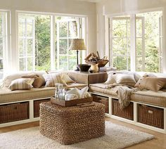 Decor Home Ideas Daybeds: wanna do this to my room. Would be wonderful, n extra storage. Luv it !!!