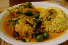 Pressure Cooker Moroccan Chicken