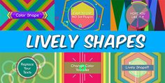 Lively Shapes  • After Effects Template • See it in action ➝ https://videohive.net/item/lively-shapes/4789620?ref=pxcr