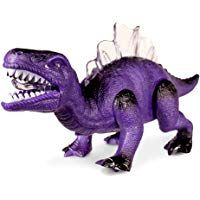 Dinosaur Toys For Boys LED Light Up and Walking Realistic Dinosaur with Sound