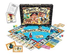 Pirate-Opoly - (Ages 5-8. 2-4 players). Helpful reviews for the best family games and toys for kids, teens and adults. Gifts for Christmas, birthday, any occasion.