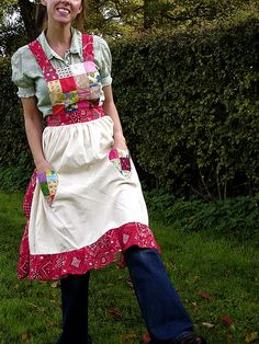 holly hobby apron by SUSANNAH DASHWOOD, via Flickr
