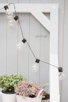Pflanztisch DIY - upcycling - delari Diy Upcycling, Diy Projects, Backyard, Wreaths, Garden, Outdoor, Home Decor, Bench, Instagram