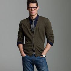 This is a cardigan look