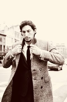 #31DAYSOFADAMDRIVER day 2. → favourite adam driver outfit Cause every girl's crazy 'bout a sharp dressed man.