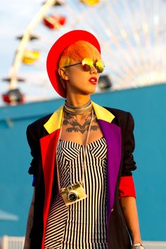 "kulturekick: "" Fa'vela Punk! / CAST Eyewear """