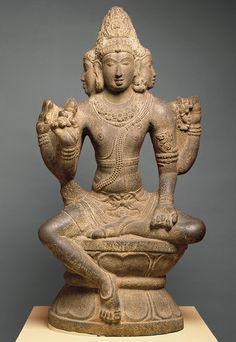 Shiva as Sadashiva or Mahesha [Tamil Nadu, India] (27.79)   Heilbrunn Timeline of Art History   The Metropolitan Museum of Art