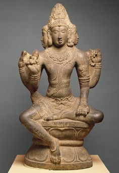 Brahma or Shiva as Sadashiva or Mahesha, ca 860-1279, Tamil Nadu, India.