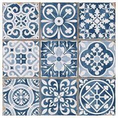 How gorgeous are these tiles? | Photo: @francisco_segarra_muebles | Sycamore Street Press