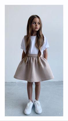Sundress for girls, skirt, skirt for gilrs Girls Fashion Clothes, Little Girl Fashion, Toddler Fashion, Kids Fashion, Fashion Outfits, Emo Fashion, Cute Little Girls Outfits, Dresses Kids Girl, Kids Outfits Girls