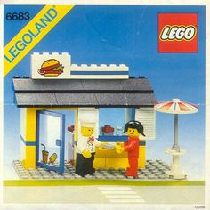 LEGO 6683 released in 1983