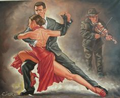 Dance paintings   size 24 x 32 x 3 subject dance media painting oil style contemporary ...