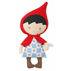 Keeping fairy tales classy. Lil' Red Riding Hood Woodland Friends Doll