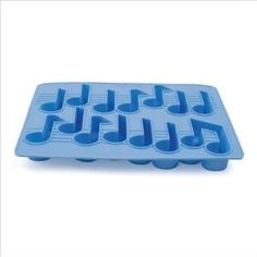 Cool Tunes Musical Note shaped Silicone Ice Cube...