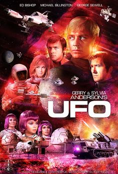 Sci-Fi And Fantasy Universe. Classic Sci Fi Movies, Classic Tv, Ufo Tv Series, Sci Fi Tv Shows, Best Movie Posters, Sci Fi Films, Vhs Movie, Fiction Movies, Fantasy Films
