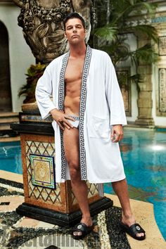 Ricky Martin as Antonio D'Amico on American Crime Story: Versace.