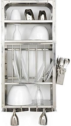 Best Wine Rack   Dish Drying Display Rack Stainless Steel Hand Made  Wall Hanging 76x24x46 Cm *** Visit the image link more details. Note:It is Affiliate Link to Amazon.