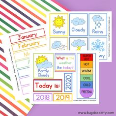 Most current Absolutely Free preschool calendar printables Thoughts The modern twelve months is usually just around the corner though it is the great time to set innovative promi. Free Preschool, Preschool Printables, Free Printables, Preschool Weather Chart, Preschool Themes, Printable Calendar Template, Classroom Calendar, Diy Calendar, Calendar For Preschool