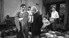 """William Hartnell as the First Doctor, Carole Ann Ford as Susan Foreman, Jacqueline Hill as Barbara Wright, William Russell as Ian Chesterton - """"Marco Polo"""" - 1964"""