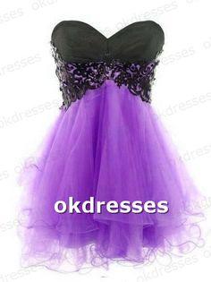 Purple Masquerade Dresses Simple Vintage
