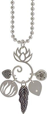 Silver Lotus Pendant Bail from Nina Designs is an exquisite way to display multiple charms. Come see our innovative designs!
