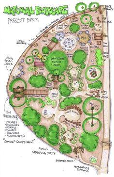 Prescott Farm Environmental Education Center is building an outdoor playscape.