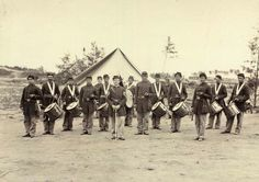 Drum Corps of the 1st Regiment Pennsylvania Reserves.