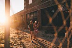 Asbury Park engagement session