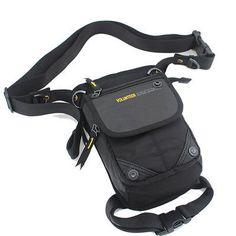 Drop Leg Belt Bag Motorcyle Rider Oxford Men Travel Assault Hip Waist Fanny Pack