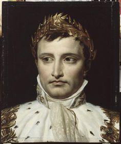 etude de tete pour un portrait de napoleon 1er en costume de sacre david