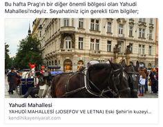 Prag, Yahudi Mahallesi gezi rehberi