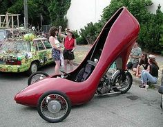 Crazy, Unique High Heel Shoes (37 Pictures)  {I would mind getting caught in these heels. K.H.}