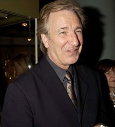 October 16, 2003 - Alan Rickman and Rima Horton attend the Human Right Watch Annual Dinner. Copyright © Getty Images