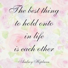 this is my favourite quote because it's so true! In the end it's not the materialistic things in life, it is the relationships you make and impressions:) you can take those so much further than life!  xox meg