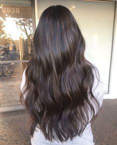 Brown Hair Balayage, Balayage Brunette, Ombre Hair, Asian Balayage, Long Brunette Hair, Bayalage, Hair Inspo, Hair Inspiration, Chocolate Brown Hair