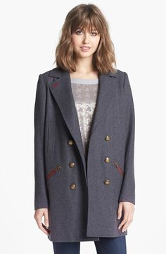 Trouvé Military Overcoat available at #Nordstrom