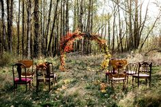 Wild + Free Autumn Elopement Inspiration Newly engaged and planning a fall wedding? Today's inspiration comes direct from that autumn paradise known as the Pacif. Paradise Falls, Intimate Weddings, Outdoor Weddings, Outdoor Wedding Alters, Wedding Arbors, Small Weddings, Disney Weddings, Barn Weddings, Destination Weddings