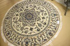 【期間限定激安セール価格】おしゃれ円形ラグペルシャ絨毯55432、ラウンドカーペットペルシャ