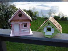 adorable birdhouses