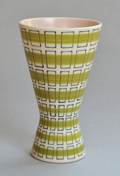 Freeform vase, shape by Alfred Read and Guy Sydenham, design by Alfred Read. 1953-1956 approximately, the PJL design.