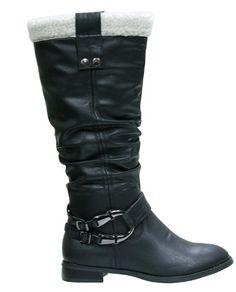 Reneeze HARWIN-01 Womens Fashion Knee-High Riding Winter Boots - BLACK, Size 10 - http://womenswinterboots.asiaparent.com/reneeze-harwin-01-womens-fashion-knee-high-riding-winter-boots-black-size-10/