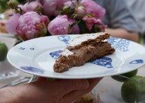 Heerlijke chocolade meringue taart