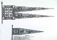 Medieval Russian banners. Courtesy of the Xenophon Group website.