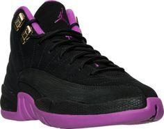 Girls' Grade School Air Jordan Retro 12 (3.5y-9.5y) Basketball Shoes | Finish Line
