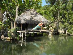 Ulpotha, Sri Lanka. Ulpotha is an organic farming village as well as a yoga and ayurvedic retreat in the jungle heartland of Sri Lanka  http://www.organicholidays.co.uk/at/211.htm