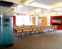 Avanti Systems - Movable Walls, Single Glazed Operable Partitions