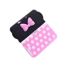 Official Disney Minny Pink Nintendo 3DS LL XL Soft Jack Case Cover TPU No.S20